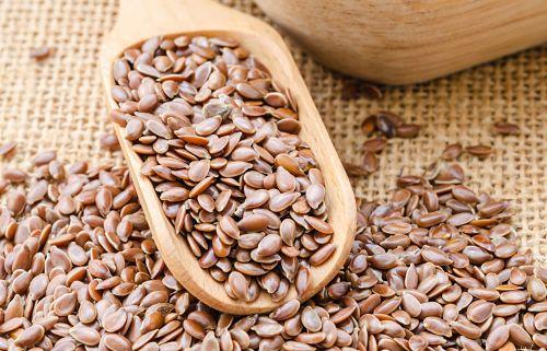 flaxseed gel on dry hair