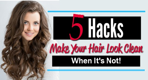 second day hair hacks