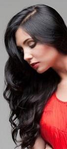 dazzling shiny hair
