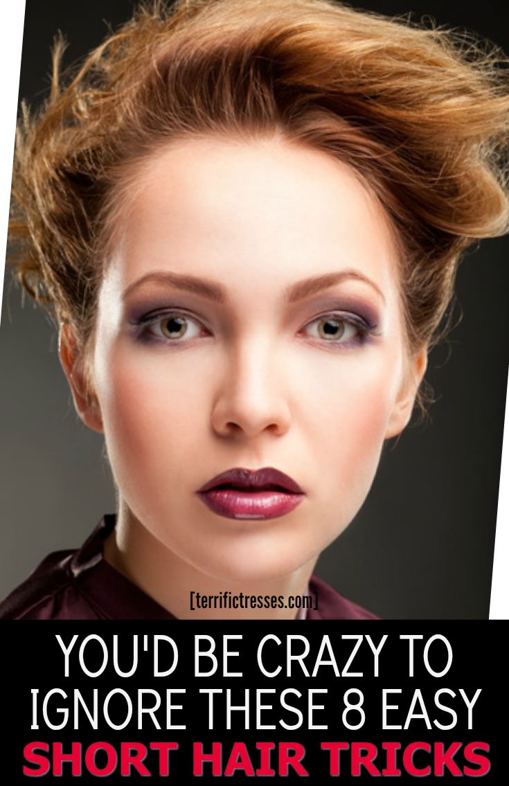 Thinking of going short?  Once committed to the chop there's no going back.  So do you know what to do to fend off a cut-tastrophe?  Find out now plus get 8 tricks to keep short hairstyles daring, fun, cute or anything but ordinary.   | TerrificTresses.com