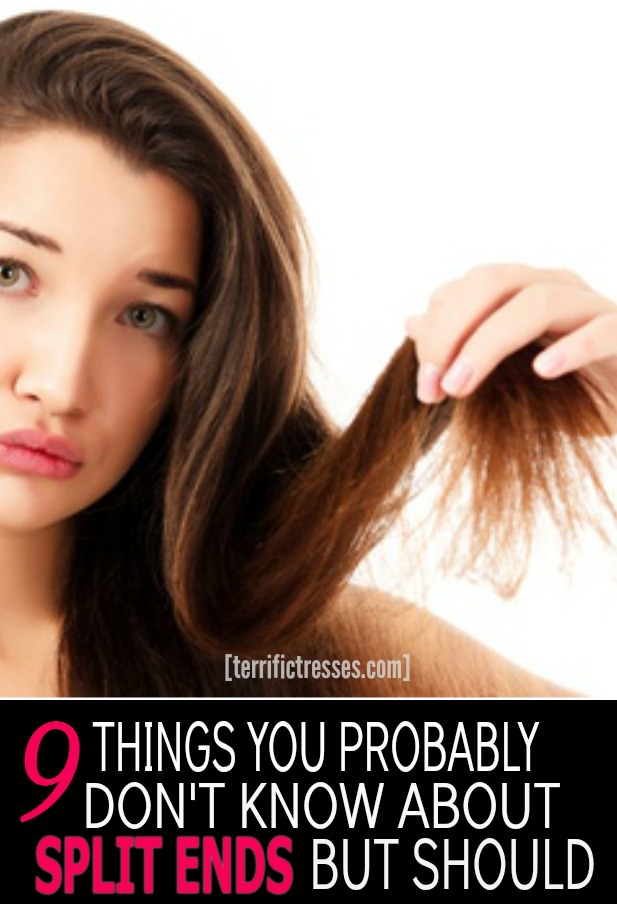 Suffer from hideous split ends ALL…THE…TIME?  Can't grow your hair out because of them?  You're not alone.  The good news is you don't have to let these annoying frayed ends ruin your day.  Get the common culprits and some uncommon cures that will let you say bye-bye to damaged tresses for good. | TerrificTresses
