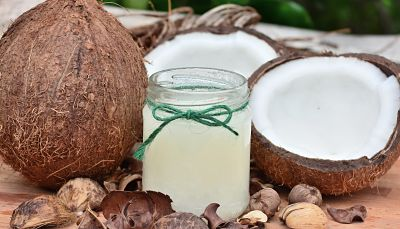 coconut oil for healthy locks